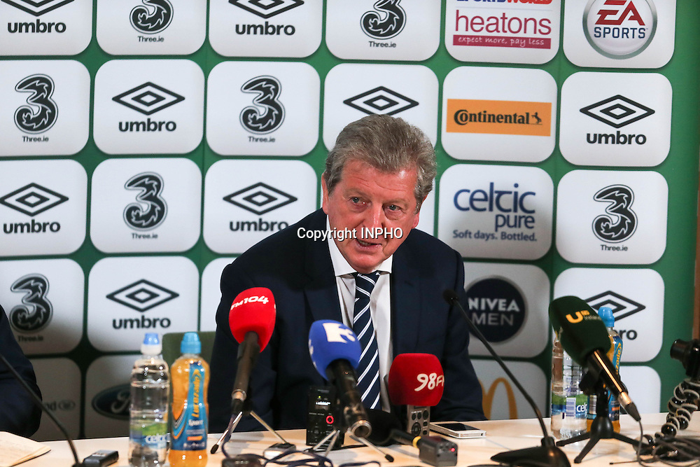 Three International Friendly, Aviva Stadium, Dublin 7/6/2015<br /> Republic of Ireland vs England<br /> England Manager Roy Hodgson<br /> Mandatory Credit &copy;INPHO/Gary Carr