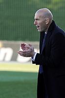 Real Madrid Castilla´s coach Zinedine Zidane during 2014-15 Spanish Second Division match between Real Madrid Castilla and Athletic Club B at Alfredo Di Stefano stadium in Madrid, Spain. February 08, 2015. (ALTERPHOTOS/Luis Fernandez)