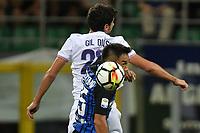 Gil Dias Fiorentina, Yuto Nagatomo Inter <br /> Milano 20-08-2017 Stadio Giuseppe Meazza <br /> Calcio Serie A Inter - Fiorentina Foto Andrea Staccioli Insidefoto