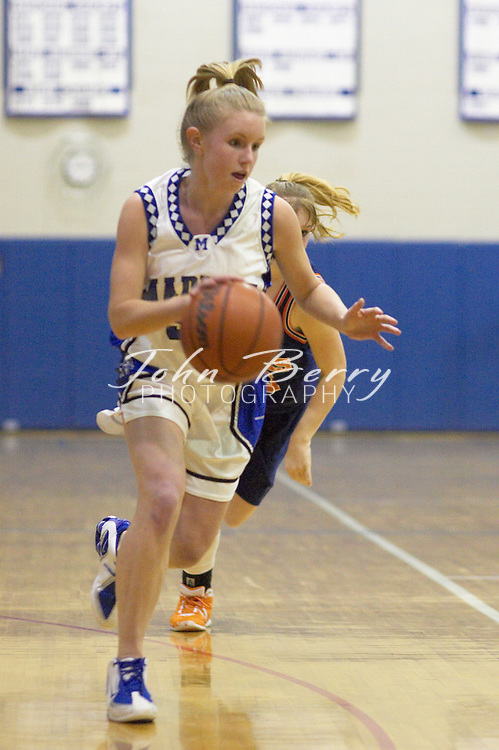 Varsity Girls Basketball..vs Clarke..January 13, 2005