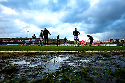 A general view of The Wham Stadium, home to Accrington Stanley - Mandatory by-line: Robbie Stephenson/JMP - 17/04/2018 - FOOTBALL - Wham Stadium - Accrington, England - Accrington Stanley v Yeovil Town - Sky Bet League Two