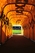 In the tunnel at Vale Park prior to the Sky Bet League 1 match between Port Vale and Coventry City at Vale Park, Burslem, England on 7 February 2016. Photo by Mike Sheridan.