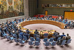 April 4, 2017 - New York, NY, United States - The United Nations Security Council held a meeting regarding the UN Secretary-General's most recent report on the South Sudan. The meeting marked US Ambassador to the UN Nikki Haley's first appearance as President of the Council at an open meeting. (Credit Image: © Albin Lohr-Jones/Pacific Press via ZUMA Wire)