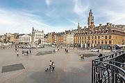 Vue sur la Grande place de Lille  // View of Grand'Place of Lille