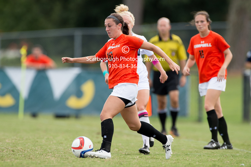 2015 Campbell University Women Soccer vs UNC Wilmington Seahawks