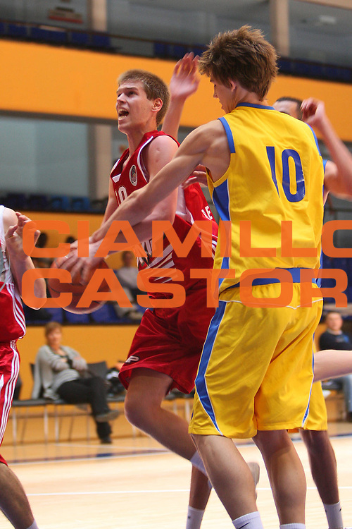DESCRIZIONE : Madrid Nike International Junior Tournament Maccabi Tel Aviv Fmp Belgrado <br /> GIOCATORE : Nemanja Petrovic <br /> SQUADRA : Fmp Belgrado <br /> EVENTO : Nike International Junior Tournament <br /> GARA : Maccabi Tel Aviv Fmp Belgrado <br /> DATA : 01/05/2008 <br /> CATEGORIA : Penetrazione <br /> SPORT : Pallacanestro <br /> AUTORE : Agenzia Ciamillo-Castoria/S.Silvestri