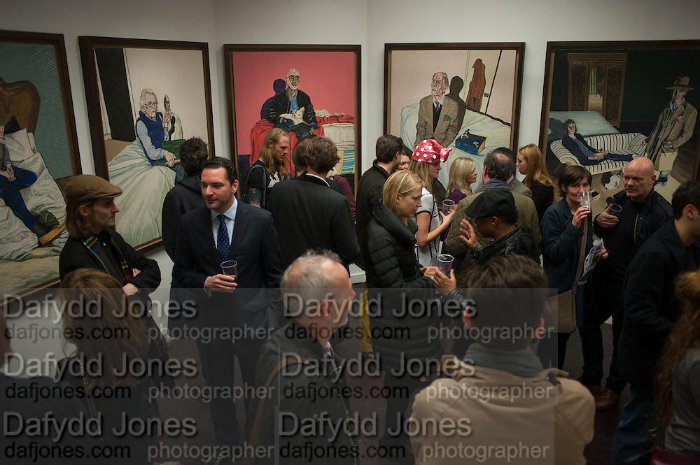 HENRY HUDSON PAINTINGS, Hominidae- Henry Hudson private view. TJ Boulting. Riding House St. London. 20 November 2012.