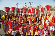Carnival, Mardi Gras, Ciudad de los Reyes, Historic center of the city, Lima, Peru
