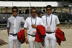 Philippaerts Olivier, Ludo, Nicola (BEL)<br /> FEI NAtions Cup of Rome 2012<br /> © Hippo Foto - Beatrice Scudo
