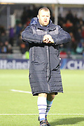 Cardiff Blues replacement Scott Andrews (18)  during the Heineken Champions Cup match between Glasgow Warriors and Cardiff Blues at Scotstoun Stadium, Glasgow, Scotland on 13 January 2019.