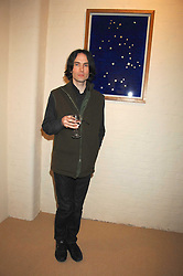 PIERS JACKSON at a private view of work by Tarka Cordell and Piers jackson held at the Barney Cordell Gallery, 90 Lots Road, London SW10 on 11th December 2007.<br /><br />NON EXCLUSIVE - WORLD RIGHTS