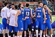 DESCRIZIONE: Torino FIBA Olympic Qualifying Tournament Finale Italia - Croazia<br /> GIOCATORE: TEAM ITALIA<br /> CATEGORIA: Nazionale Italiana Italia Maschile Senior<br /> GARA: FIBA Olympic Qualifying Tournament Finale Italia - Croazia<br /> DATA: 09/07/2016<br /> AUTORE: Agenzia Ciamillo-Castoria