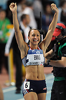 ATHLETICS - WORLD CHAMPIONSHIPS INDOOR 2012 - ISTANBUL (TUR) 09 to 11/03/2012 - PHOTO : STEPHANE KEMPINAIRE / KMSP / DPPI - <br /> PENTATHLON - WOMEN - SILVER MEDAL - JESSICA ENNIS (GBR)