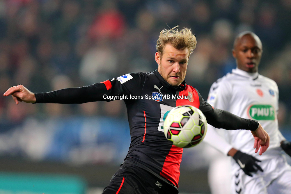 Ola TOIVONEN - 22.01.2015 - Rennes / Reims - 1/16Finale Coupe de France-<br />