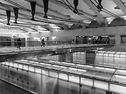 Dulles Airport Main Terminal Subway Station