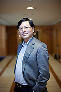 Yang Yuanqin CEO at Lenovo photographed at the Hilton Hotel in Prague, Czech Republic.