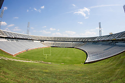 Scott Stadium, David A. Harrison III Field, Carl Smith Center, at the University of Virginia - August 12, 2007.