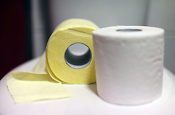 A couple of toilet paper rolls. Picture date: Wednesday April 1, 2020.