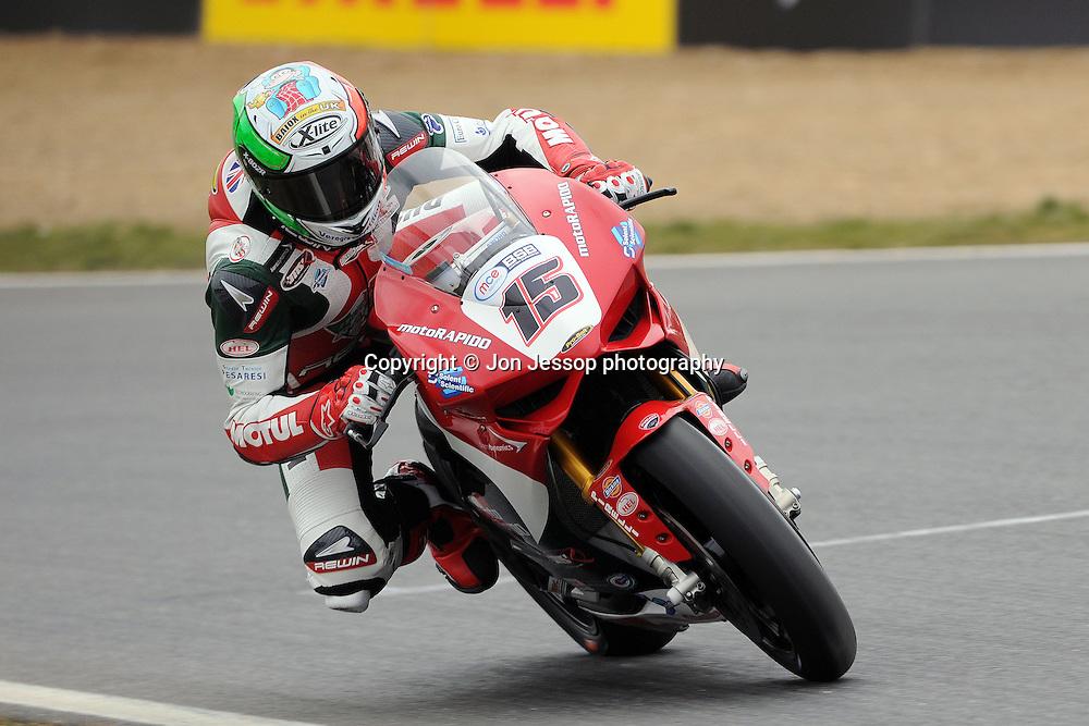 #15 Matteo Baiocco Rapido Sport Racing Ducati