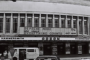 Hammersmith Odeon, London, UK, 1983