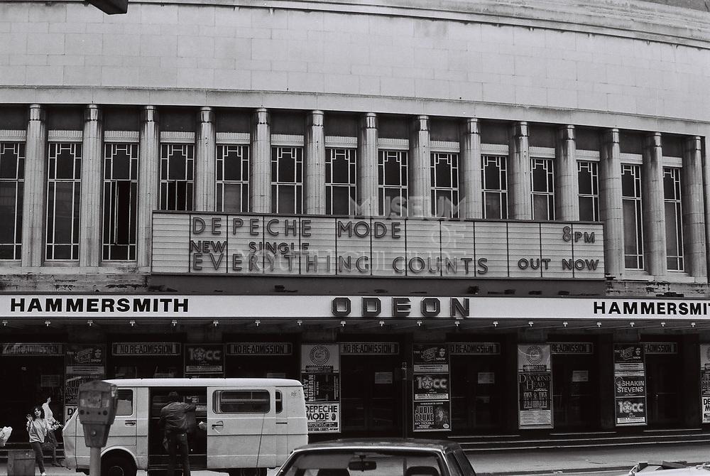 Hammersmith Odeon, London, UK, 1983