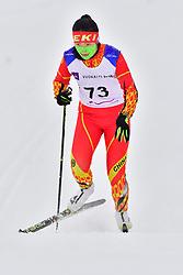 GUO Yujie, CHN, LW8 at the 2018 ParaNordic World Cup Vuokatti in Finland