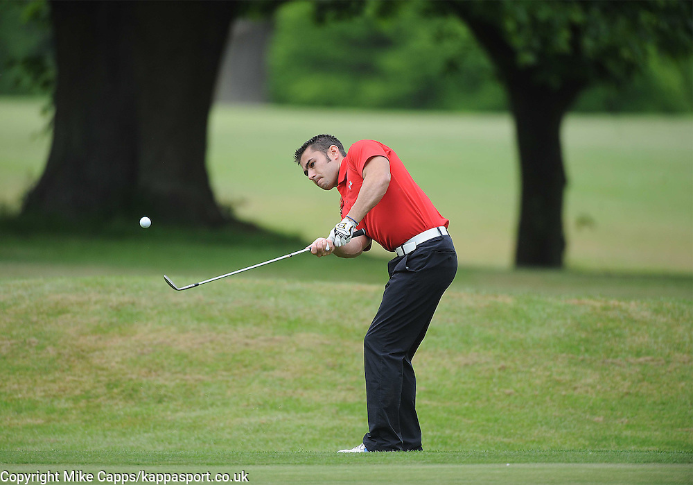 Leon Haslam in Action, Leon Haslam Sparks Golf Classic, Harrowden Hall Wellingborough, Northants 11th June 2013