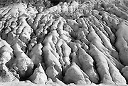 Erosion of mountain side in Death Valley