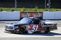 March 23, 2019 - Martinsville, VA, U.S. - MARTINSVILLE, VA - MARCH 23:   #51: Kyle Busch, Kyle Busch Motorsports, Toyota Tundra Cessna during qualifying for the NASCAR Gander Outdoors Truck Series TruNorth Global 250 race on March 23, 2019 at the Martinsville Speedway in Martinsville, VA.  (Photo by David J. Griffin/Icon Sportswire) (Credit Image: © David J. Griffin/Icon SMI via ZUMA Press)