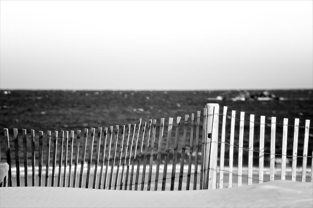 Winter time - Sandy Beach Cohasset Massachusetts