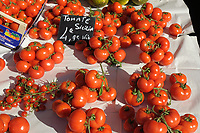 Tomatoes for sale in a french market