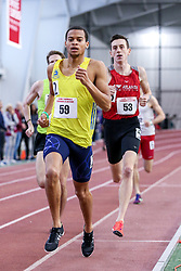 1000 meters, heat 1, Harrison, BAA, adidas<br /> BU John Terrier Classic <br /> Indoor Track & Field Meet <br /> day 2