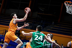 Kresimir Radovcic KK Helios Suns during 9. round of Slovenian national championship between teams Helios Suns and Zlatorog Lasko in Sport Hall Domzale on 30. November 2019, Domzale, Slovenija. Grega Valancic / Sportida