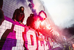Viole during Group E football match between NK Maribor and FC Sevilla in 6th Round of UEFA Champions League, on December 6, 2017 in Ljudski vrt, Maribor, Slovenia. Photo by Ziga Zupan / Sportida