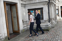 David Cameron and his wife Samantha voting this morning. The Prime Minister David Cameron and his wife Samantha Cameron enter the polling station early this morning for voting in the European Elections at Central Hall, Westminster, London, United Kingdom. Thursday, 22nd May 2014. Picture by Daniel Leal-Olivas / i-Images