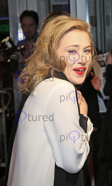 LONDON - OCTOBER 13: Sarah Gadon attended the screening of 'Antiviral' at the Odeon West End, Leicester Square, London, UK. October 13, 2012. (Photo by Richard Goldschmidt)
