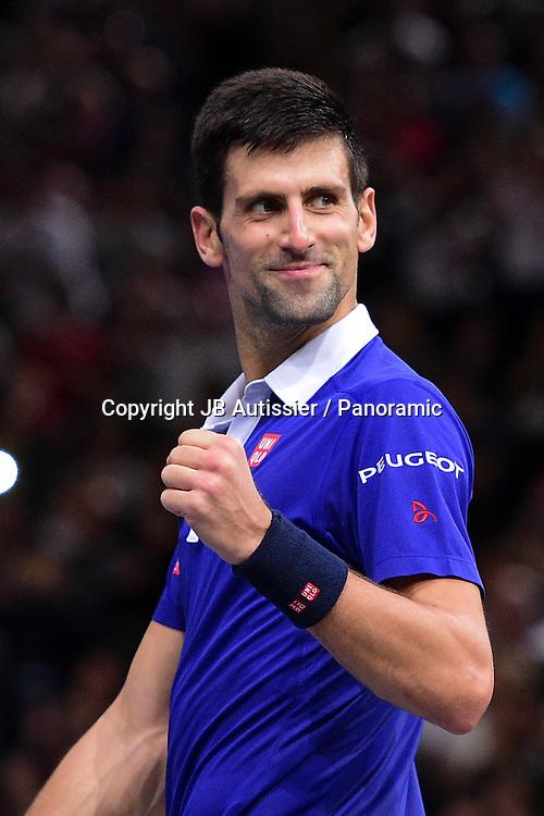 Joie de Novak Djokovic (SRB)