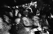 Audience at a rock gig W.Australia 1990's.