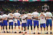 team <br /> Nazionale Italiana Maschile Senior<br /> Eurobasket 2017 - Group Phase<br /> Lituania Italia Lithuania Italy<br /> FIP 2017<br /> Tel Aviv, 03/09/2017<br /> Foto M.Ceretti / Ciamillo - Castoria