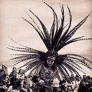 Aztec Dancer. Gathering of Nations Powwow, New Mexico.