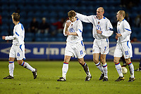Fotball, 28. april 2004, Privatlandskamp, Norge-Russland 3-2, Vladislav Radimov (15), Victor Onopko (7), Denis Boyarintsev (18), Russland