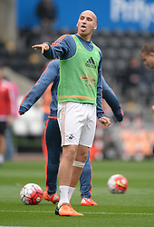 Jonjo Shelvey of Swansea City - Mandatory byline: Alex James/JMP - 07966 386802 - 04/10/2015 - FOOTBALL - Liberty stadium - Swansea, England - Swansea City  v Tottenham hotspur - Barclays Premier League