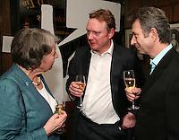 Nancy Jarratt, Simon Gordon and Steve Knott