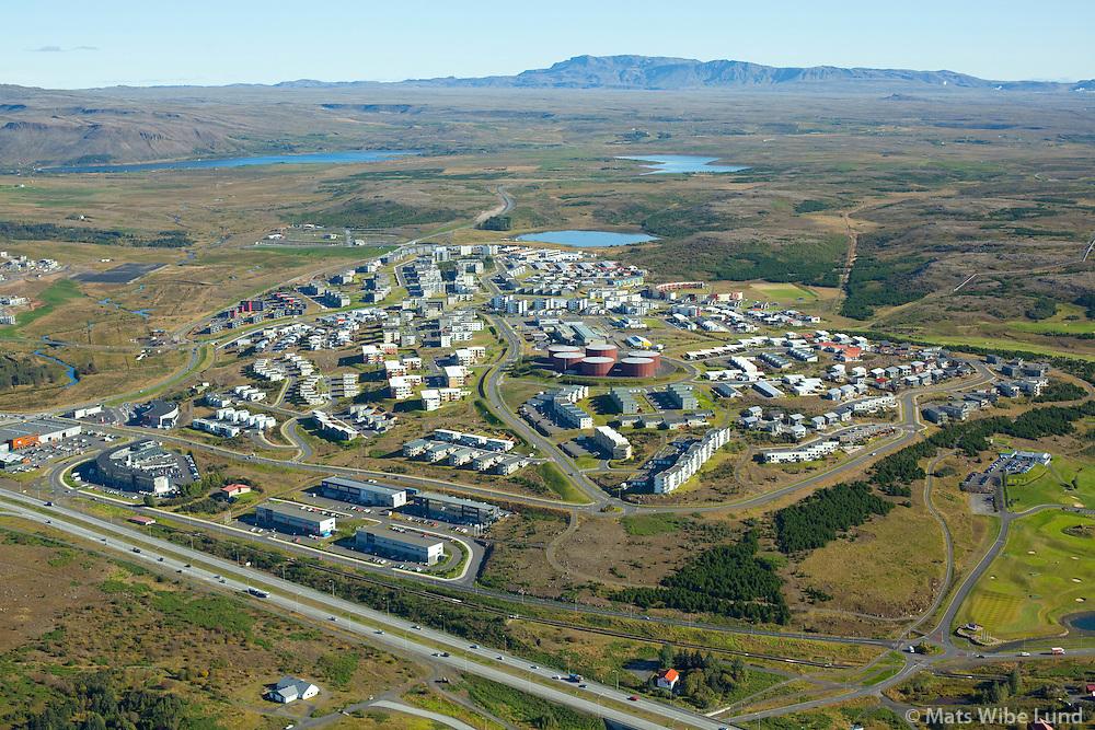 Grafarholt séð til austurs, Reykjavík / Grafarholt viewing east, Reykjavik