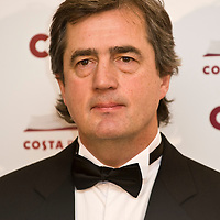 London Jan 27 Author Sebastian Barry has won the Costa Book of the Year Award for his novel The Secret Scripture. Barry scooped the £25000 award at a ceremony in central London...***Standard Licence  Fee's Apply To All Image Use***.XianPix Pictures  Agency . tel +44 (0) 845 050 6211. e-mail sales@xianpix.com .www.xianpix.com