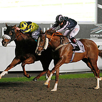 Beggars Belief and Seb Sanders winning the 6.05 race