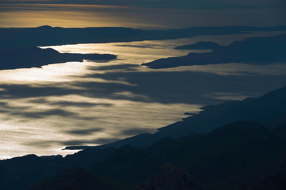 Adriatic coastline, Velebit mountains Nature Park, Croatia