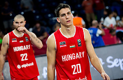 Zoltan Perl of Hungary after the basketball match between National Teams of Serbia and Hungary at Day 11 in Round of 16 of the FIBA EuroBasket 2017 at Sinan Erdem Dome in Istanbul, Turkey on September 10, 2017. Photo by Vid Ponikvar / Sportida