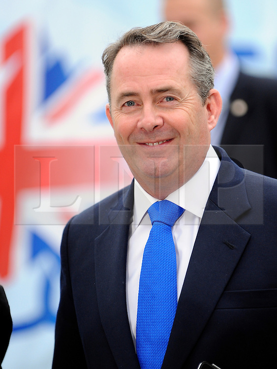 © Licensed to London News Pictures. 03/10/2011. MANCHESTER. UK. Liam Fox, Defence Secretary at The Conservative Party Conference at Manchester Central today, October 3, 2011. Photo credit:  Stephen Simpson/LNP