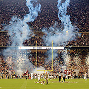 during the first half of an NCAA college football game in College Station, Texas, Saturday, Oct. 11, 2014. (Photo/Thomas Graning)
